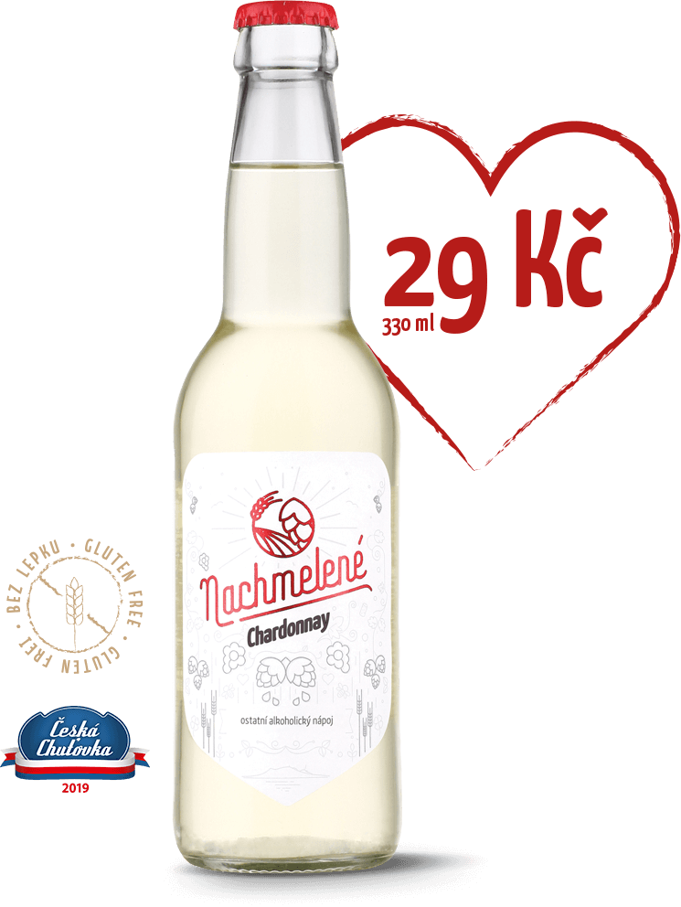 Nachmelené Chardonnay cena 29 Kč za 330 ml